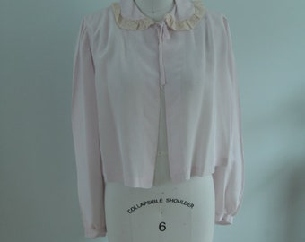 1950's Short Bed Jacket