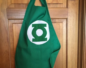GREEN LANTERN Kids Superhero Cape/Costume