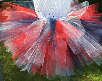 Baby Infant Girls Patriotic Tutu Dress Size 0-6 months for July 4th
