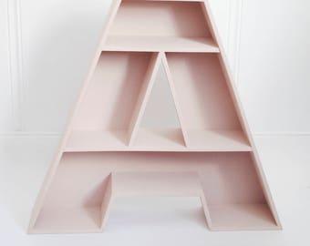 Letter shelving. Furniture