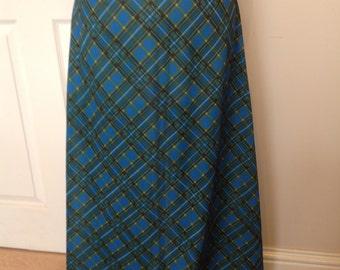 Original Vintage 1970's Maxi Skirt - Size 6/8