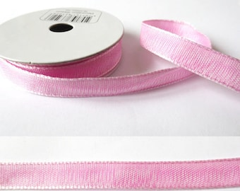 2 m x 10mm fancy Ribbon pink mylittlebird