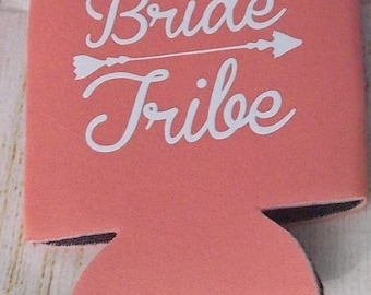 Bride Tribe Can Coozie