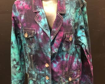 Tie Dye Upcycled Sonoma XL Jacket
