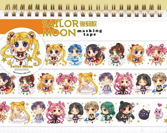 1 Roll of Limited Edition Japanese Anime Washi Tape:  Sailor Moon