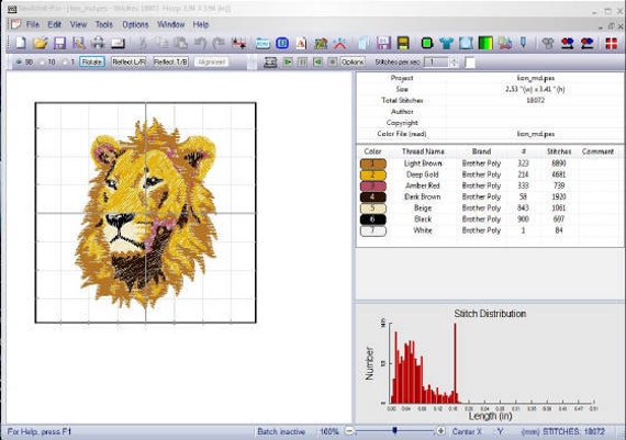 Free Design Sewwhat Pro Embroidery Software Sew What Pro