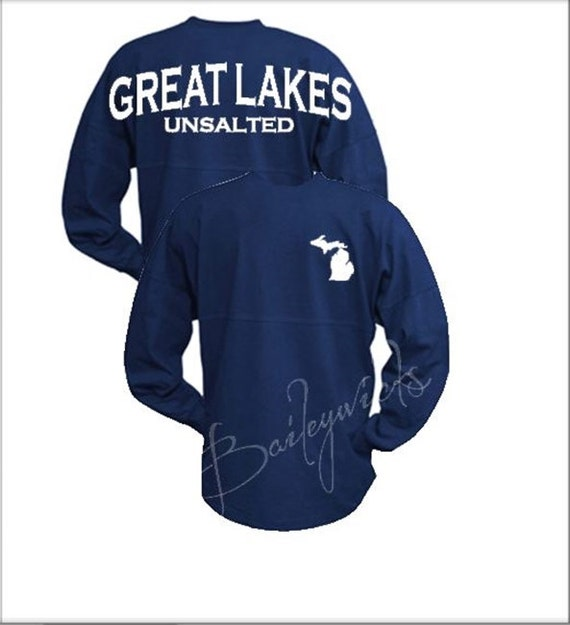 Lake Unsalted Jersey, Jersey, Custom Billboard Jersey, Great Lakes Unsalted, Lake Life by Etsy