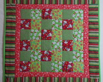SALE - Winter Holidays Quilt 1