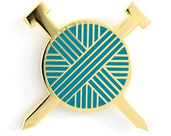 Yarn Ball Enamel Pin