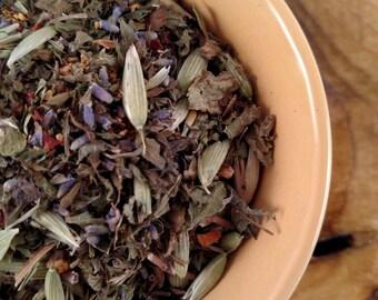 Sunny Lemon Balm Herbal Tea