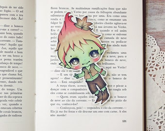 Leafy - bookmark - made to order