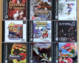 Sony Playstation 1 PS1 CD-ROM Games - You Choose the Title
