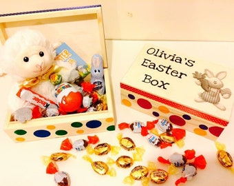 Easter box personalised