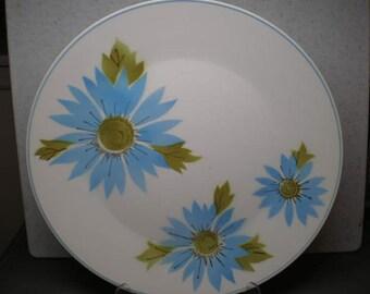 Vintage 1960s Large Ceramic Platter - Mikasa - Focus Shape