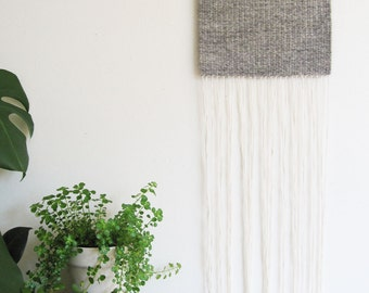 Lost on the Lagoon - handmade weaving / woven wall hanging / tapestry