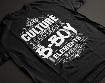 Born to Flow - THE B-BOY - Elements Tee