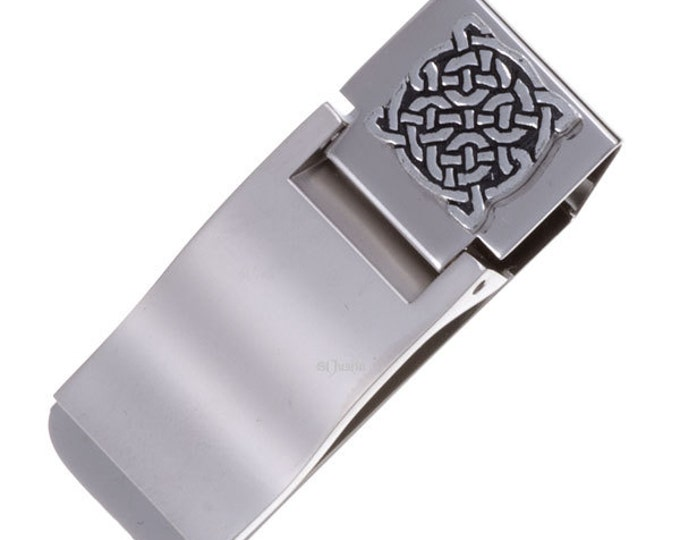 Four knot money clip -Hand Made and Design in UK