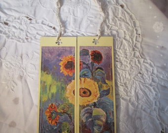 Set of 2 card bookmarks