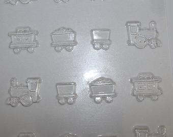 Train Chocolate Mould Mold