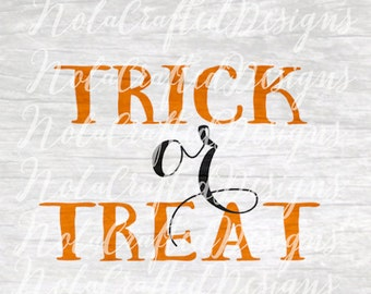 Trick or Treat Svg - Trick or Treat Png - Halloween Svg - Halloween Png - Fall Svg - Fall Png - Pumpkin Svg - Pumpkin Png - Cut file - Dxf
