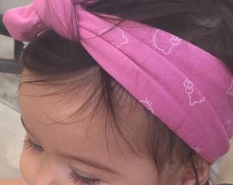 Hello Kitty Head Band Tie