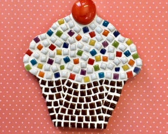 Fun Lily Mosaics D.l.Y. Mosaic Cupcake Kit for Adults and Children