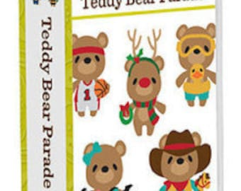 Teddy Bear Parade, NEW Cricut Cartridge*