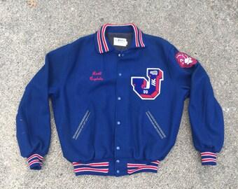 Vintage Varsity Letter Jacket