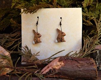 Forest Rabbit Earrings