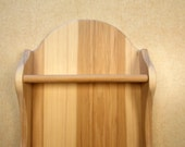 WOOD WALL ART Two Shelf R...