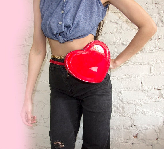 Heart Shape 2 Way Cross Body Fanny Pack
