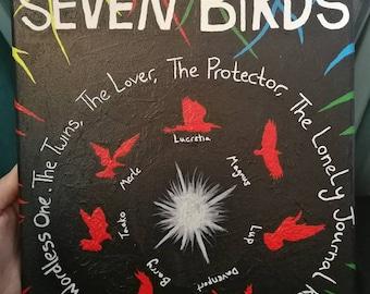 Seven Birds (The Adventure Zone) Painting