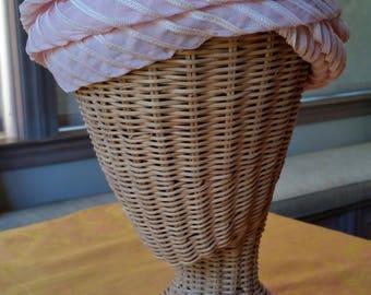 Saks Fifth Avenue Silk Turban Hat