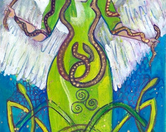 Corra, Celtic Serpent Goddess