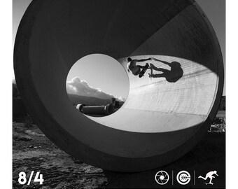 """16X20"""" Skateboarding Show Poster - Chris Miller Skateboarding - Photograph - Grant Brittain"""