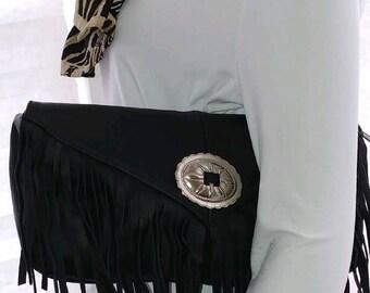 Black Panther Leather  Bag