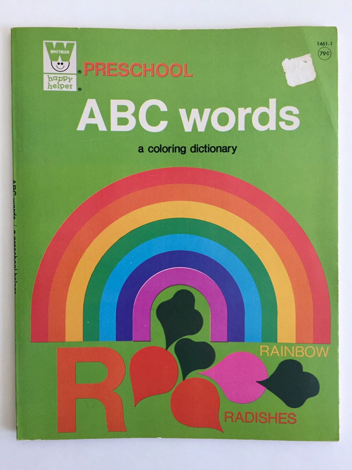 1970\'s Whitman ABC Words Preschool Coloring Dictionary- Coloring ...