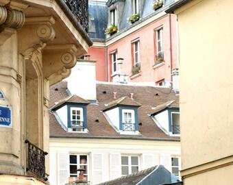 Paris Photography, Paris Roof Tops, Large Paris Art Print, Paris Roofs, Paris Buildings, Paris Decor