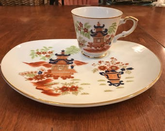 Asian Inspired Luncheon Set - Set of 4