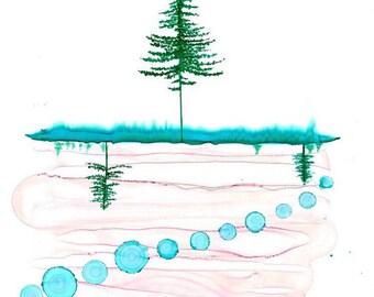 Tree series - prints