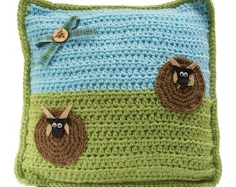 Manx Loaghtan Sheep Cushion