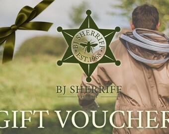 BJ SHERRIFF Gift Voucher
