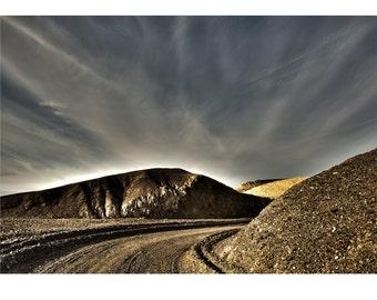 Orbit, Death Valley, Desert, Landscape, Travel, Giclée Print, Archival, Photograph, Color