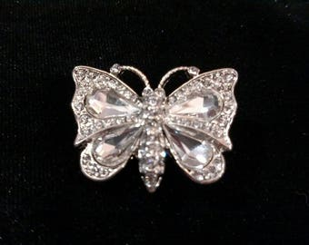 Crystal Butterfly Hair Jewelry
