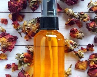 Rose Body Oil, Floral Body Oil, Rose Argan Oil | Rose - Silk Body Oil | Made with oils of Argan, Sea Buckthorn & Rosehip