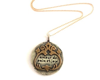 Love of Peace and Joy Necklace