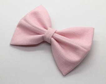 Cotton Candy Pink Bow