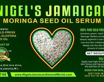 Nigel's Jamaican Moringa seed oil serum