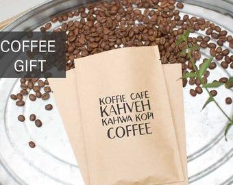 Coffee Lover Gift-Organic Fair Trade Single Origin Coffee Beans-Fresh Roasted Coffee-Coffee Gift Basket-Gourmet Coffee Gift-Specialty Coffee