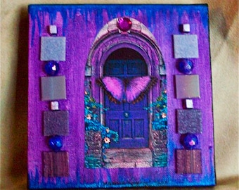 Original Art - Portal in Purple